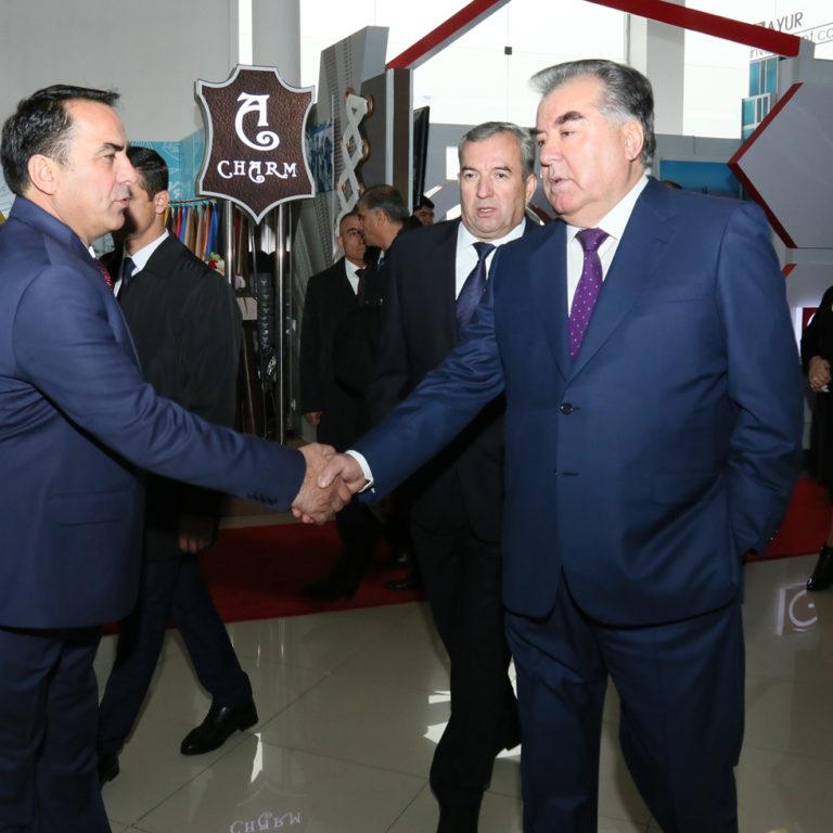 Выставка в Таджикистане - Душанбе